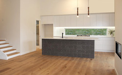 Thornleigh kitchen from living
