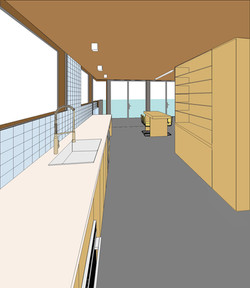 New kitchen design drawing for Kenzai