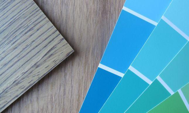 TDC timber paint samples
