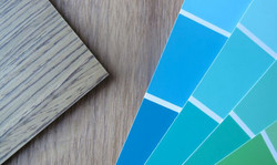 Timber veneer and colour samples