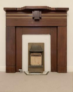 Clovelly fireplace