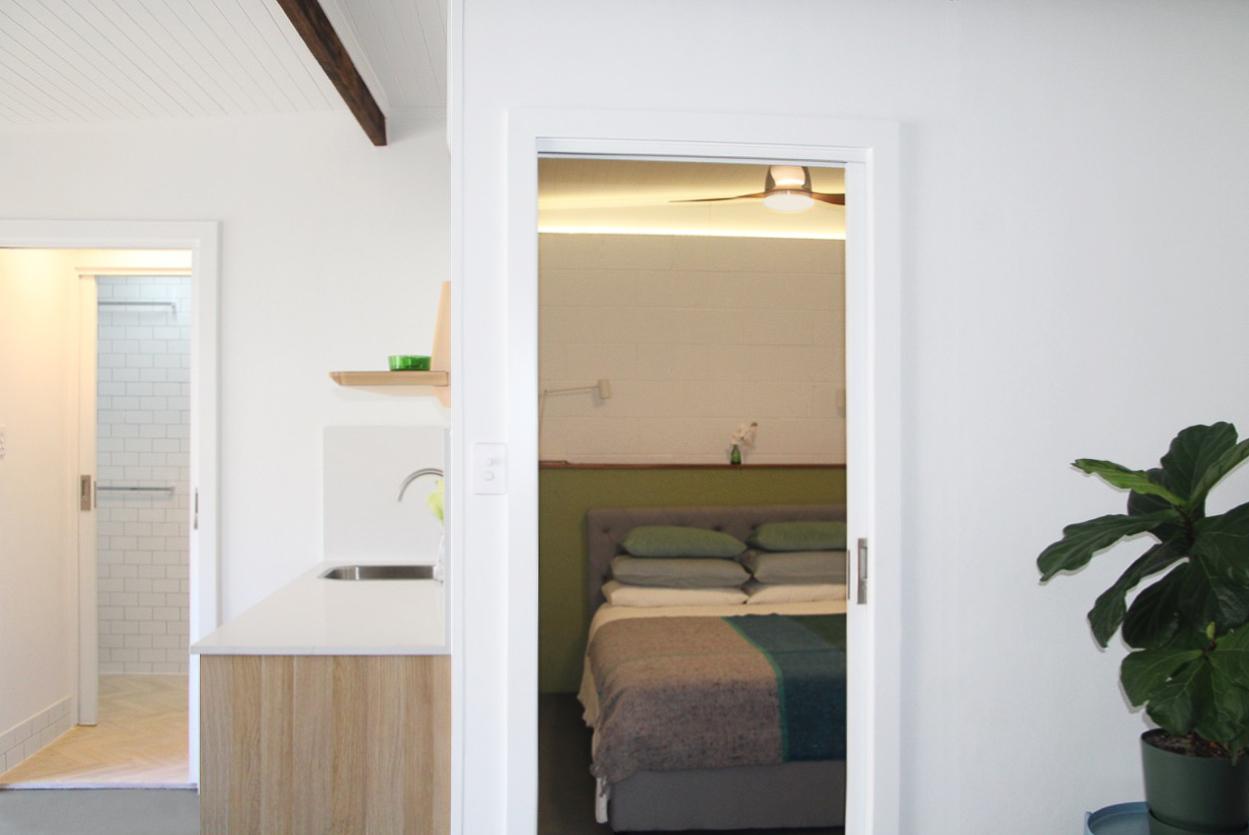 Living to bedroom kitchen bathroom