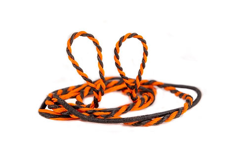 D-97 Bowstring (Black on Orange)