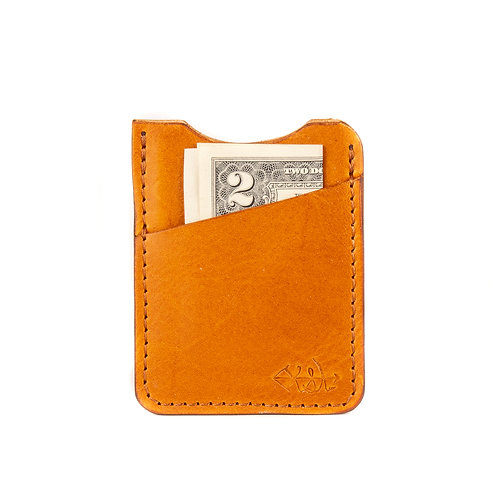 #77 The Connecticut Wallet (Chestnut)