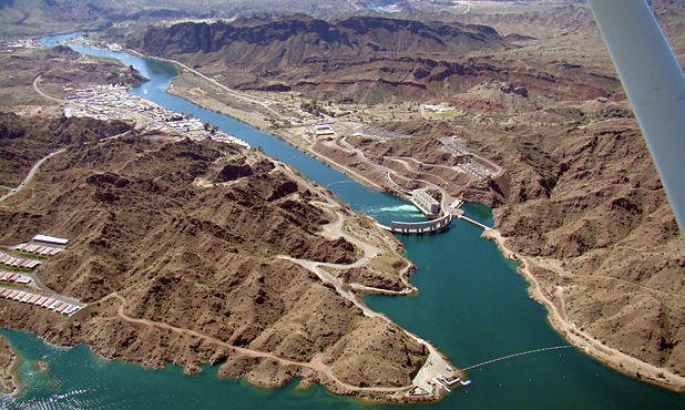 Nearby Parker Dam