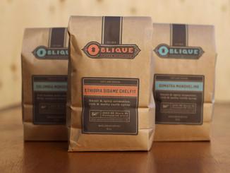 Oblique Coffee: Rebranding