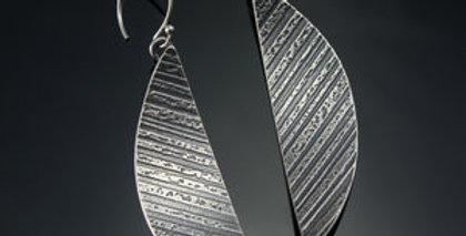 Silver Arc Earrings