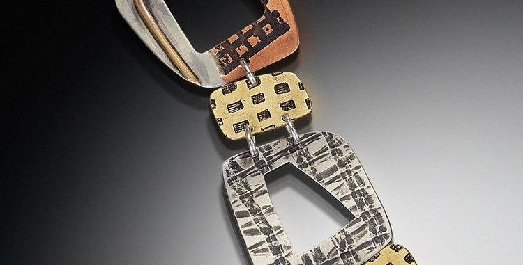 Main Line Mixed Metal Bracelet