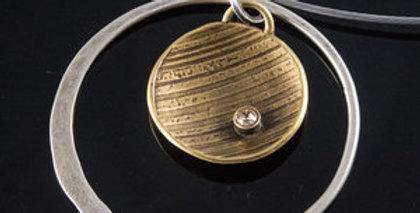 Sun Ray Orbit Necklace