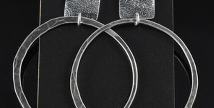 Silver Soul Squares & Large Orbit Hoops