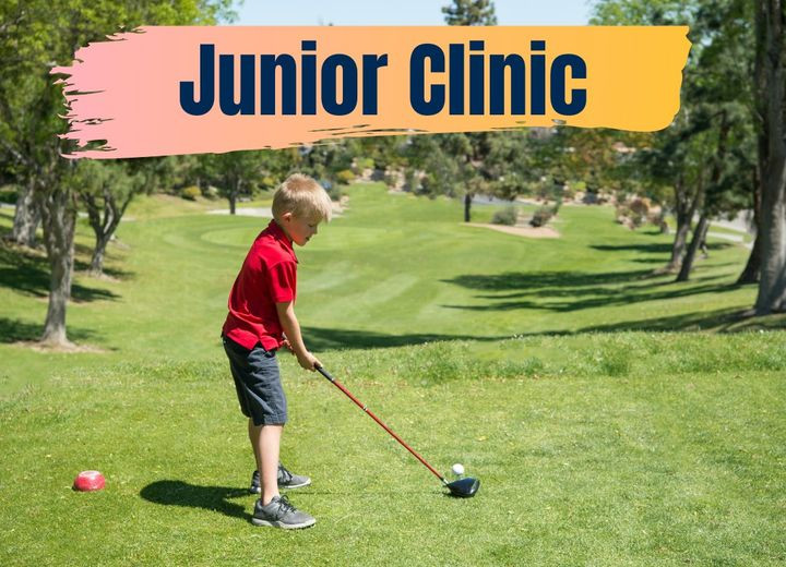 junior clinic golfer
