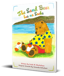The Sand Bear has no Socks - 3D Cover.pn