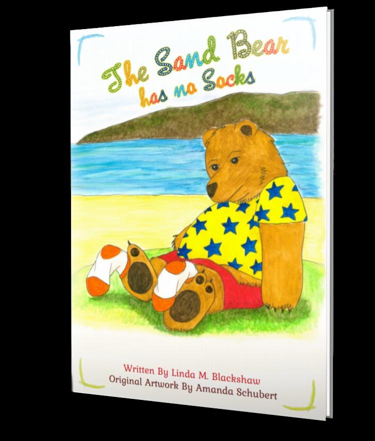 'The Sand Bear has no Socks' by Linda M Blackshaw