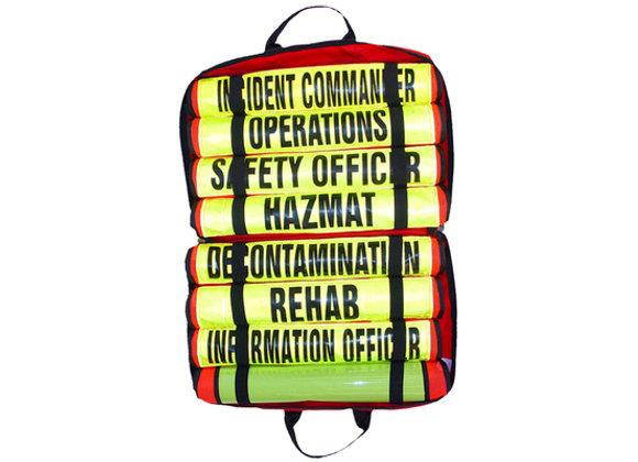 R&B Fabrications HAZMAT Vest set w/ Large Titled Mesh Vest