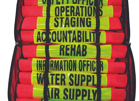R&B Fabrications Fire Command Vest set w/ Command Vest Reflective
