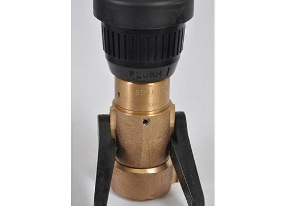 "Akron Style 3016 1 1/2"" Brass Fog Nozzle"