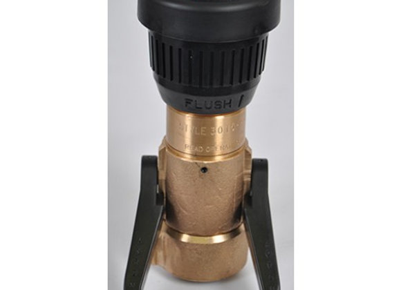 "Akron Style 3015 1 1/2"" Brass Fog Nozzle"