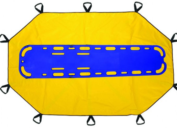 R&B Fabrications Bariatric Transfer Sheet w/ Backboard Insert