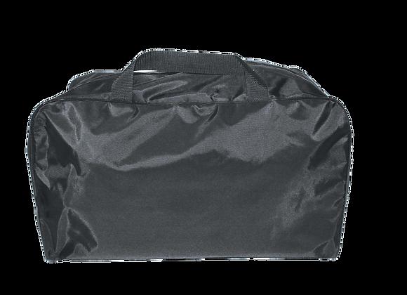 R&B Fabrications Small Plain Black Duffel Bag