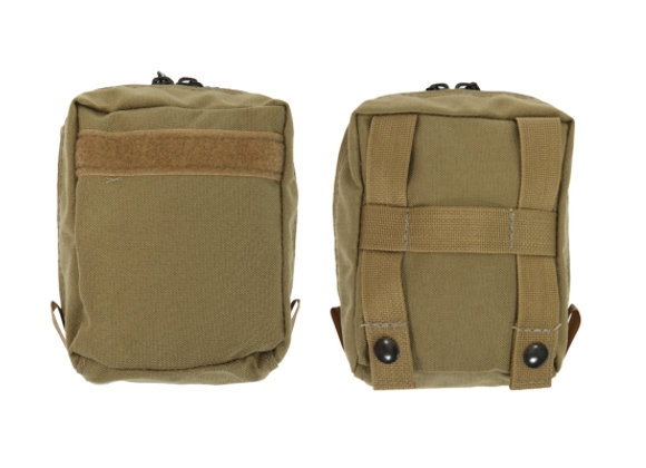 R&B Fabrications Outside Large Front Pocket w/ Zipper for Tactical Backpack