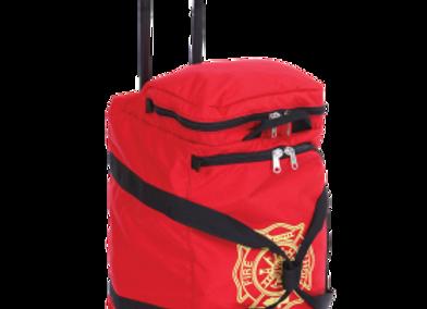 R&B Fabrications Wheeled Gear Bag - Red