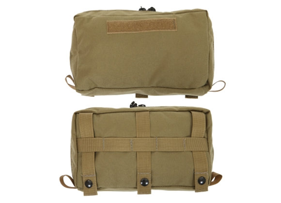 R&B Fabrications Outside XL Front Top Pocket w/ Zipper for Tactical Backpack