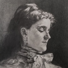 Pencil study of 'Emily Sargent' by John Singer Sargent
