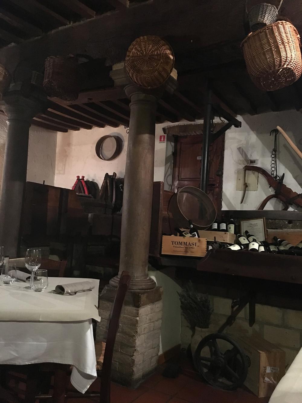 Trouver un restaurant typique italien