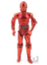 Unproduced Red Chrome R-3PO Figure