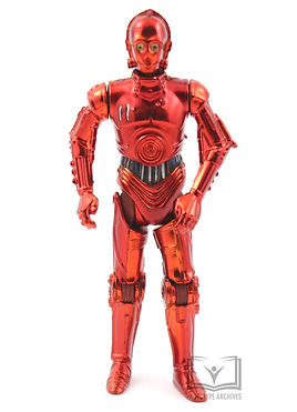 Unproduced Red Chrome R-3PO Figure
