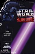 Shadows of the Empire Princess Leia Boushh Proof Card