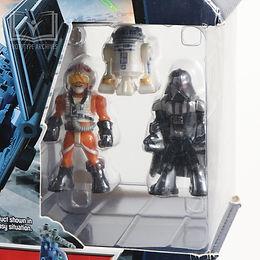AMP'd Luke Skywaker R2-D2 Darth Vader