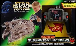 Millennium Falcon Flight Simulator Toy