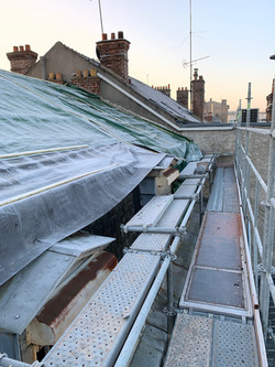 Réfection toiture immeuble