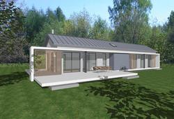 Création maison contemporaine