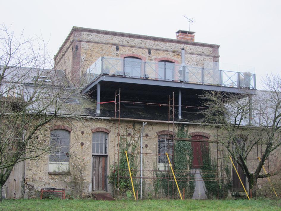 Création d'une terrasse sur le toit