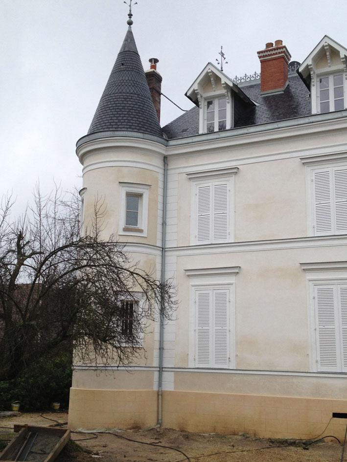 Restauration d'un château