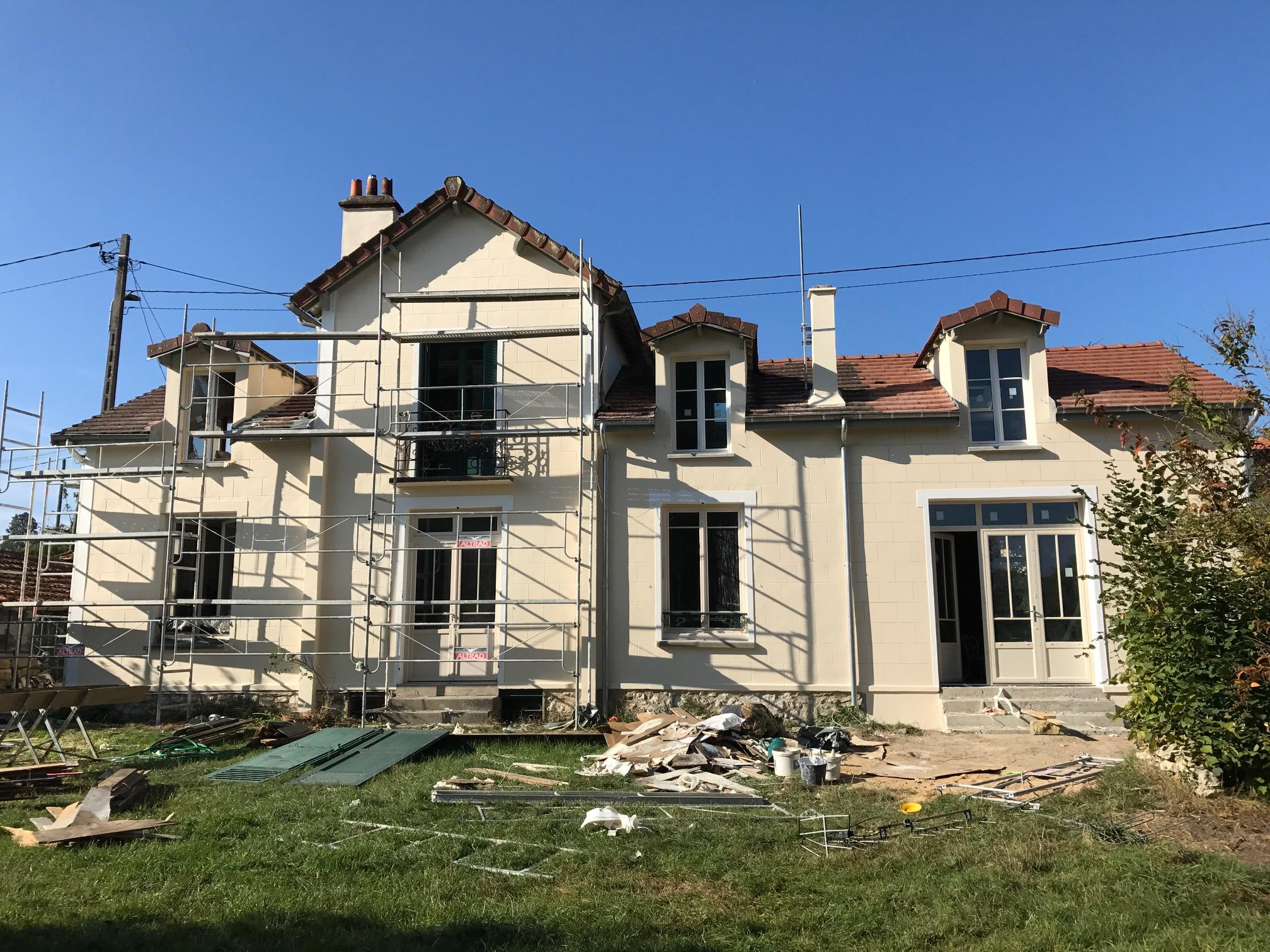 Agrandissement et rénovation