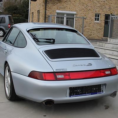 Porsche 993 Carrera 4S Coupe