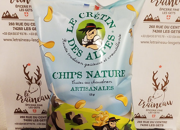 Chips Nature Artisanales 125g