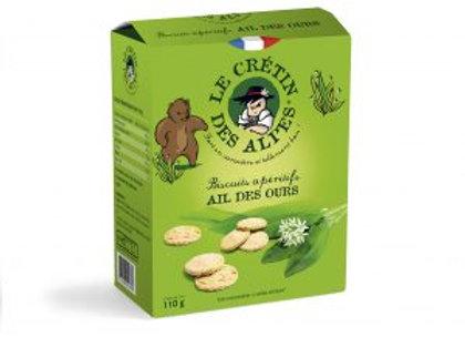 Biscuits apéritifs Ail des Ours 110g