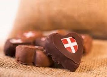 Coeurs Savoyards en chocolat 85g