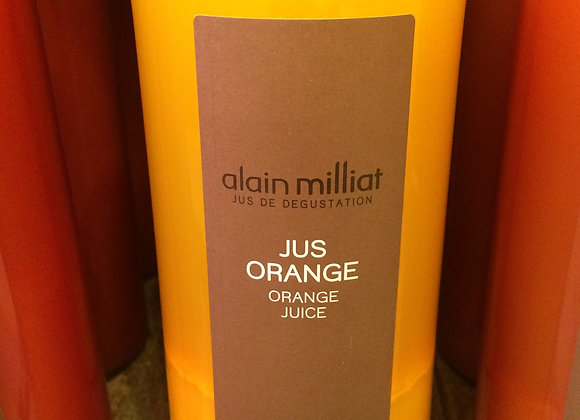 Jus d'orange blonde 100cl Alain Milliat