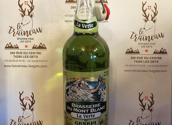 Bière du Mont-Blanc Verte 75cl