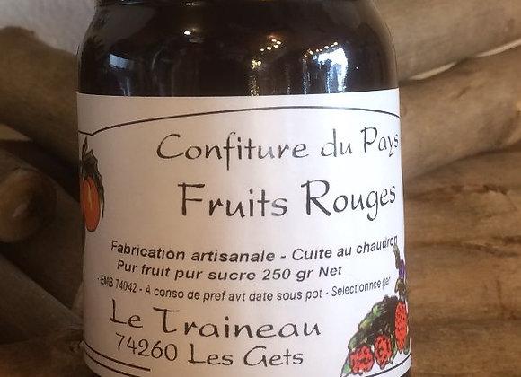 Confiture de Fruits Rouges 250g
