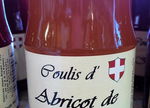 Coulis d'Abricot de la Drôme 230g