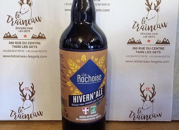 Bière Hivern'Ale La Rochoise Bio