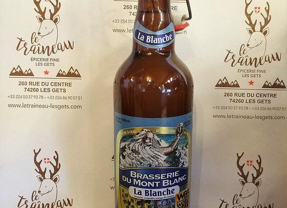 Bière du Mont-Blanc Blanche 75cl