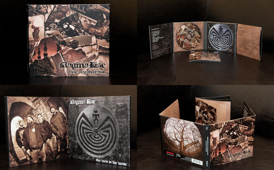 False flag operation/The man in the maze 2CD