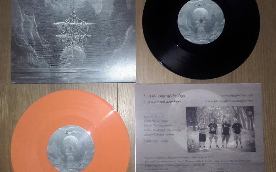 """At the edge of the days EP/10"""" vinyl"""